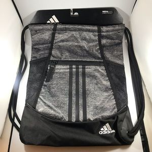 Adidas Alliance II Sackpack grey gym bag